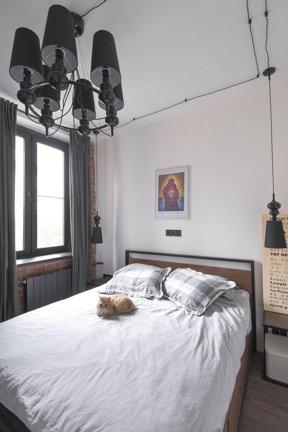 adelaparvu.com despre apartament in stil industrial, Moscova, designer Yevgeniya Razuvayeva, 9design, Foto Dean Alexandrov (3)