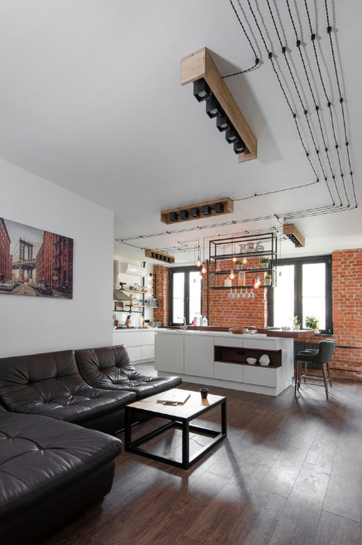 adelaparvu.com despre apartament in stil industrial, Moscova, designer Yevgeniya Razuvayeva, 9design, Foto Dean Alexandrov (8)
