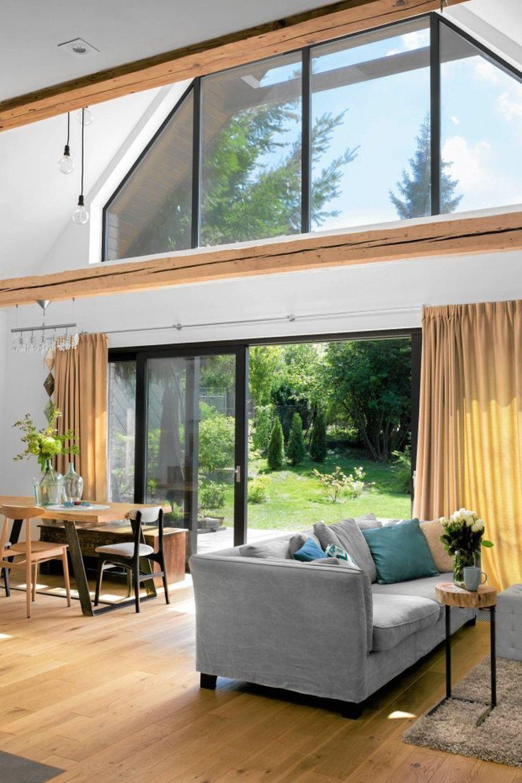 adelaparvu.com despre casa din lemn renovata, 155 mp, Polonia, arhitectura Agnieszka Usarek (11)