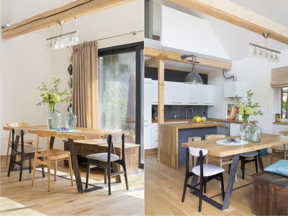 adelaparvu.com despre casa din lemn renovata, 155 mp, Polonia, arhitectura Agnieszka Usarek (3)