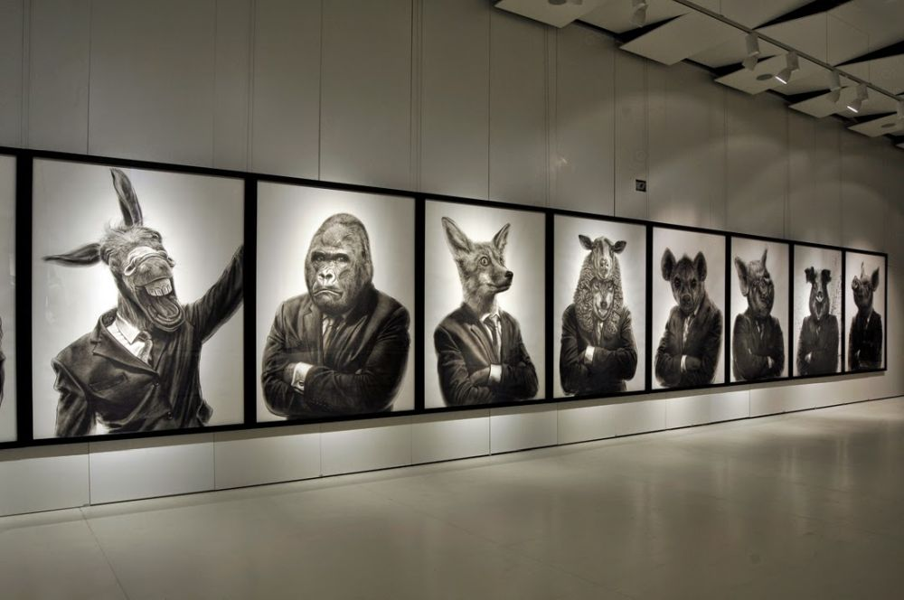 adelaparvu.com despre expozitia Political Bestiary, Galeria Galateca, 2014, Artist Valeriu Mladin (2)