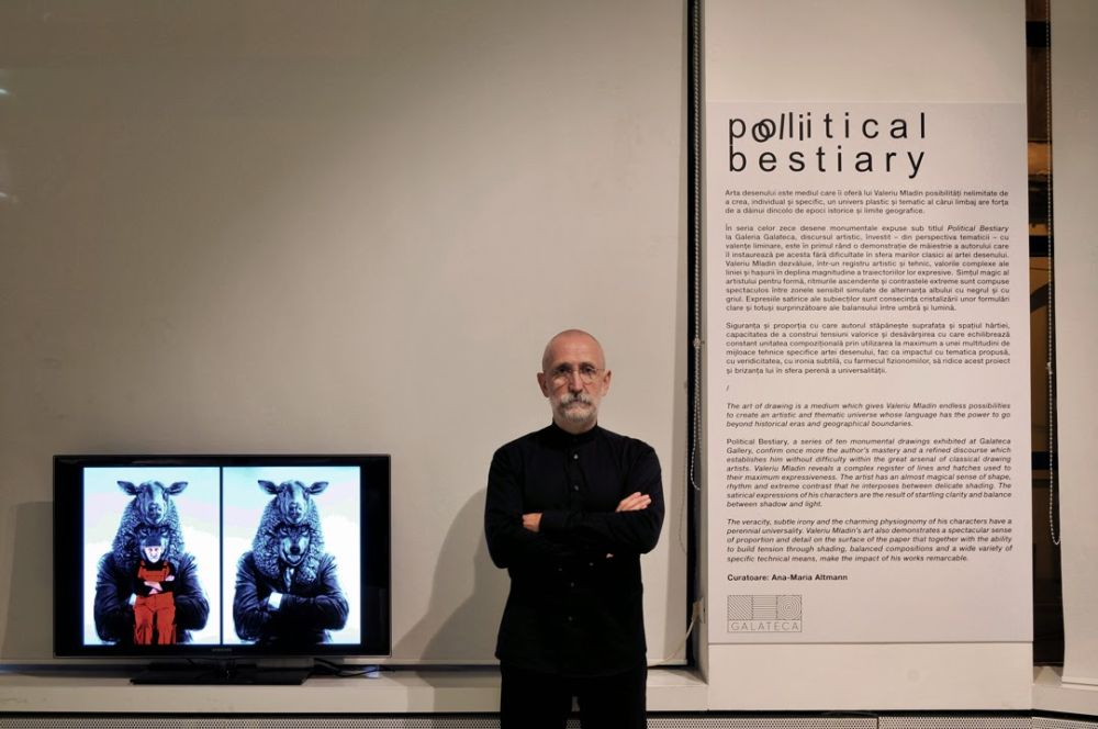 adelaparvu.com despre expozitia Political Bestiary, Galeria Galateca, 2014, Artist Valeriu Mladin (3)