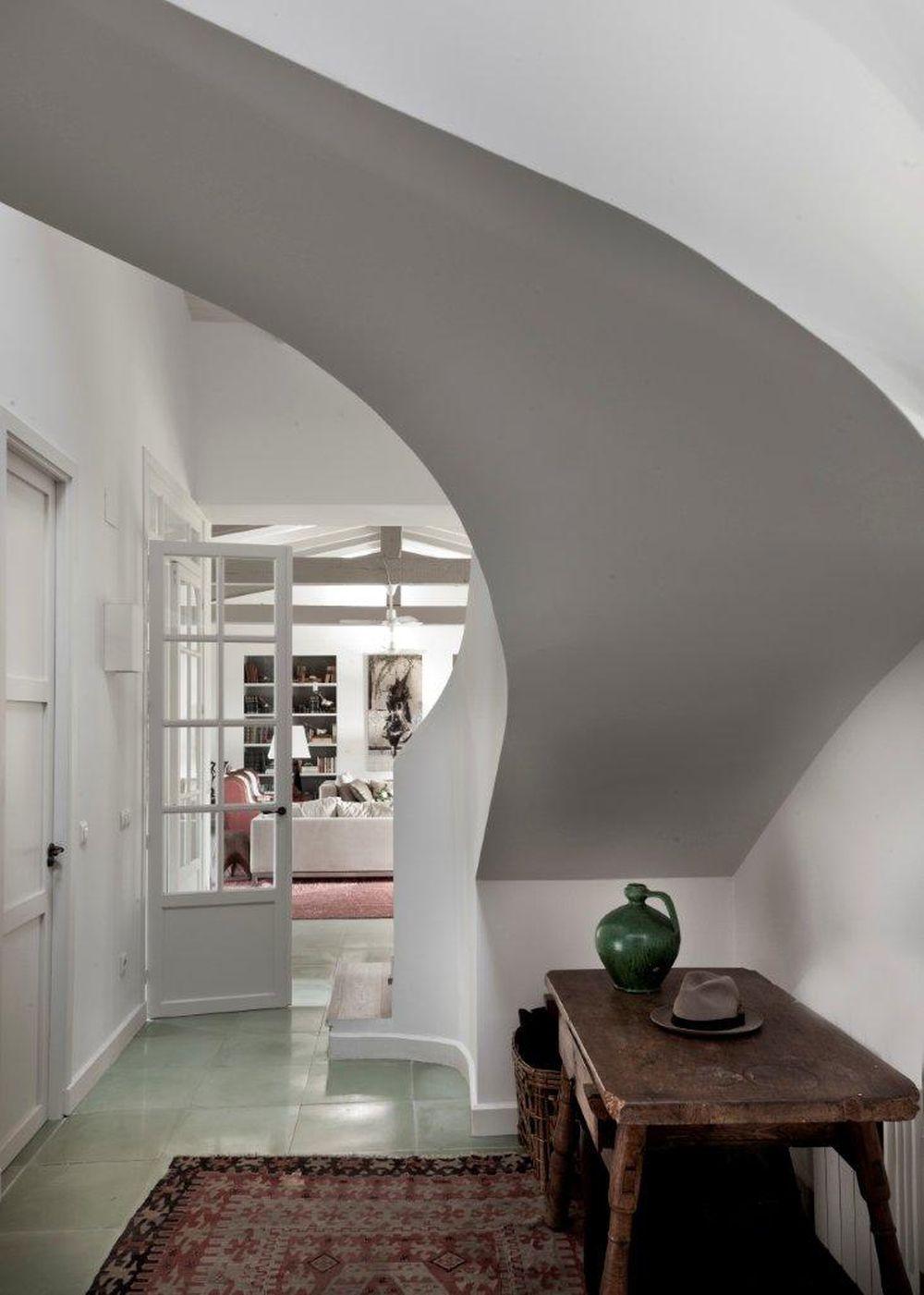 adelaparvu.com despre pod mansardat, casa Spania, arhitect Pablo Alvarez de Lara, Foto El Mueble (10)