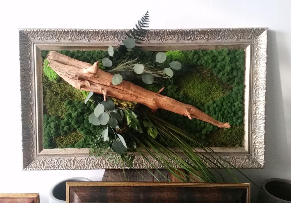 adelaparvu.com despre tablouri cu plante stabilizate, design Arta Gradinilor, Bucuresti (14)