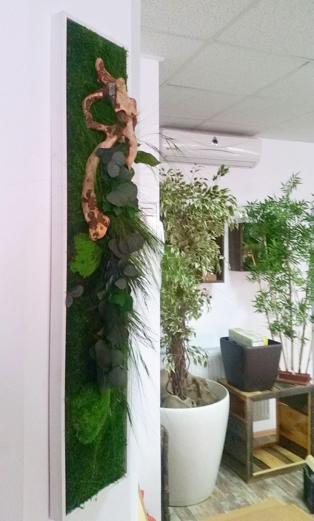 adelaparvu.com despre tablouri cu plante stabilizate, design Arta Gradinilor, Bucuresti (15)