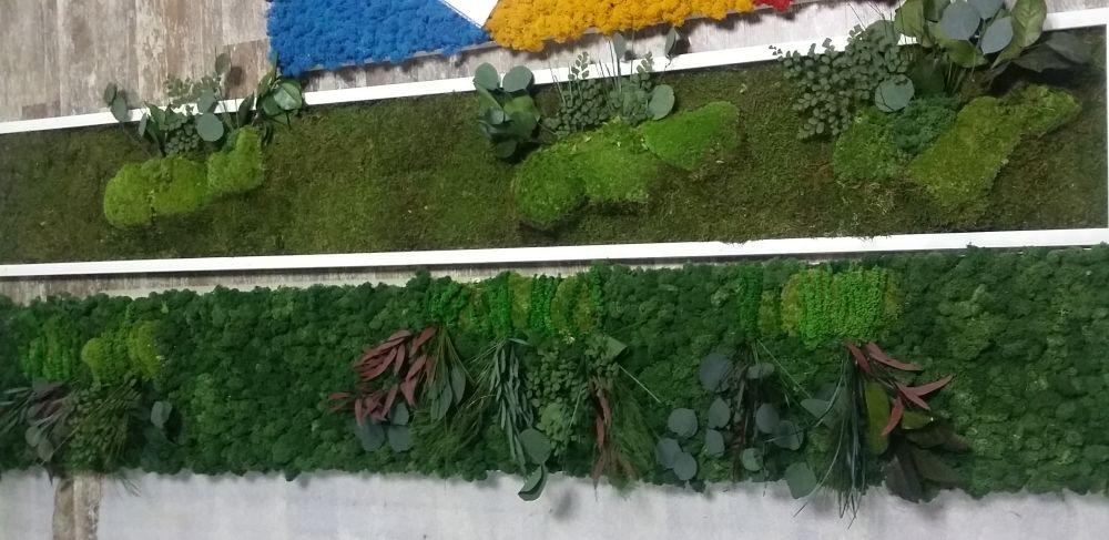 adelaparvu.com despre tablouri cu plante stabilizate, design Arta Gradinilor, Bucuresti (18)