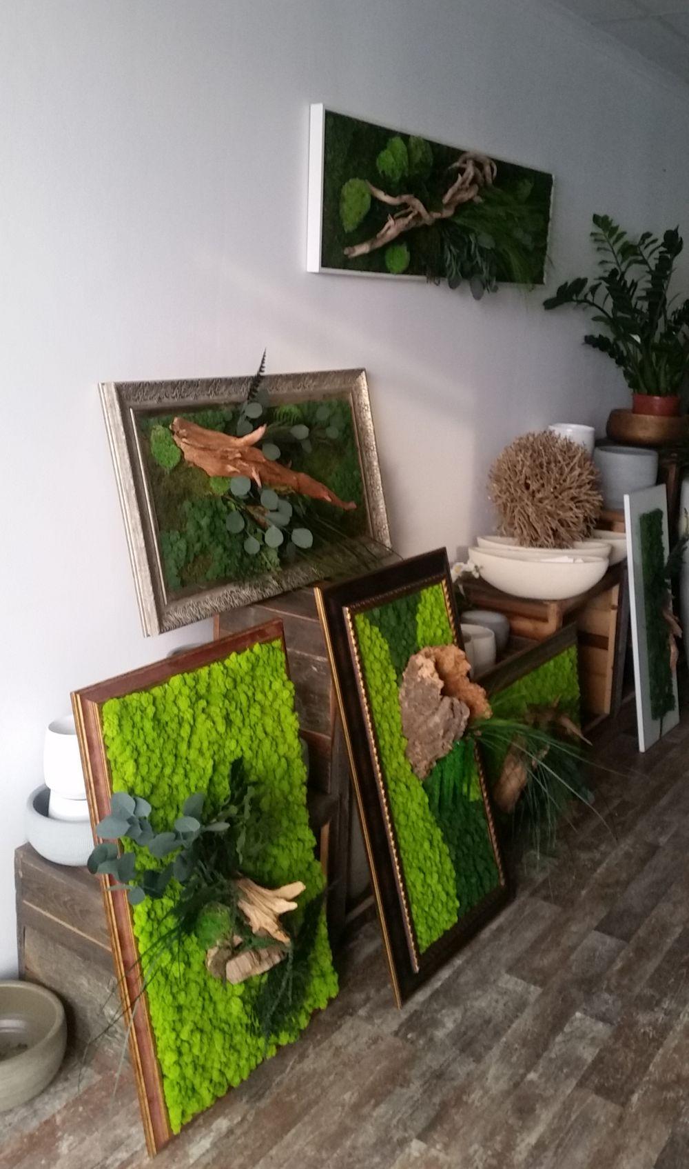 adelaparvu.com despre tablouri cu plante stabilizate, design Arta Gradinilor, Bucuresti (4)
