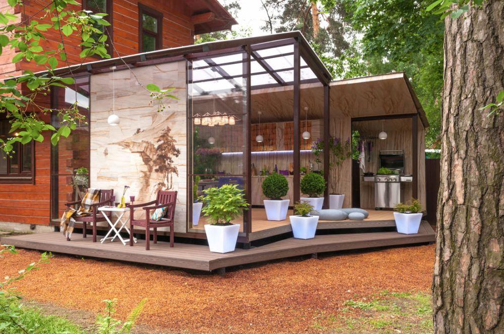 adelaparvu.com despre terasa cu bucatarie de vara,40 mp, Malakhovka, Rusia, Design Roman Belyanin si Alexei Zhbankov (19)