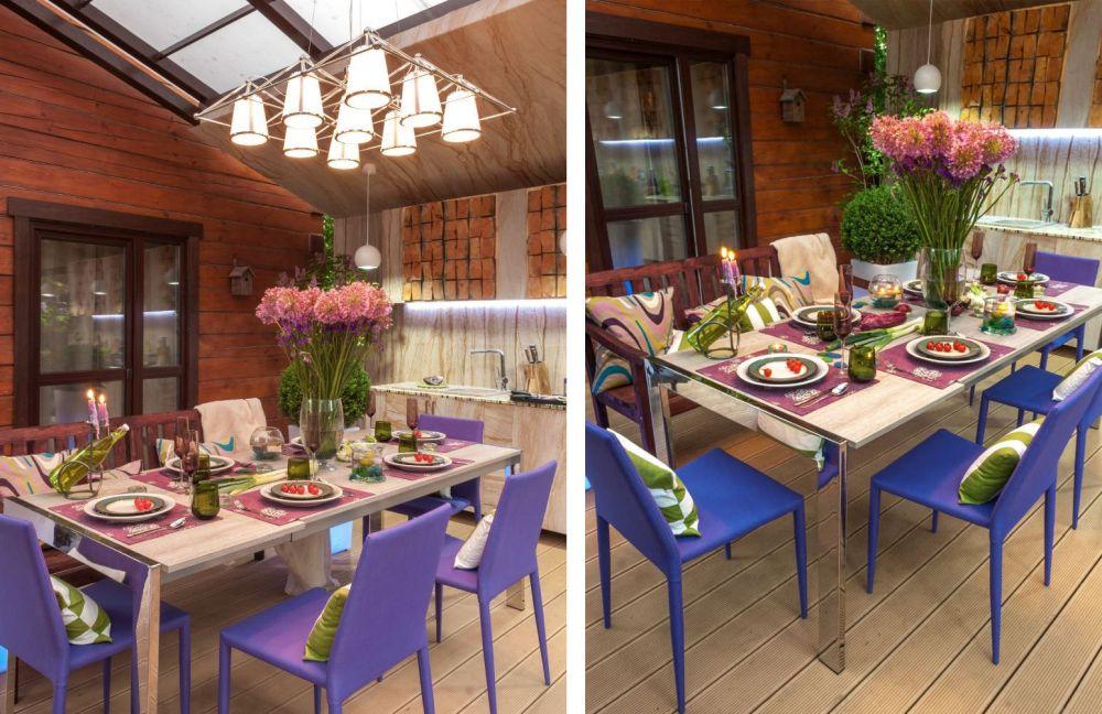 adelaparvu.com despre terasa cu bucatarie de vara,40 mp, Malakhovka, Rusia, Design Roman Belyanin si Alexei Zhbankov (2)