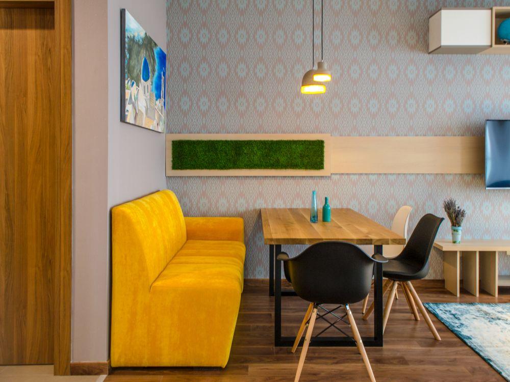 adelaparvu.com despre amenajare apartament 3 camere Bucuresti, 83 mp, Design arh. Sergiu Califar, Pure Mess (1)