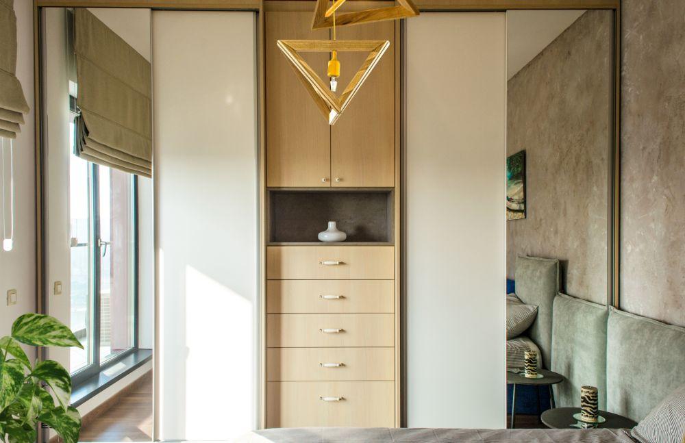 adelaparvu.com despre amenajare apartament 3 camere Bucuresti, 83 mp, Design arh. Sergiu Califar, Pure Mess (22)