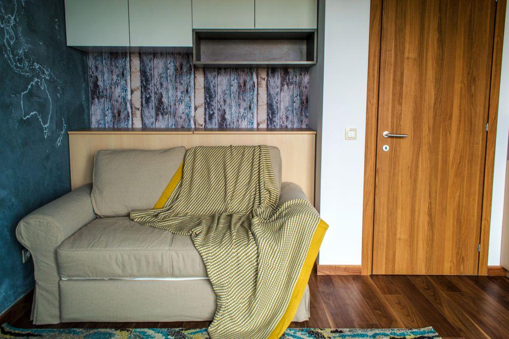 adelaparvu.com despre amenajare apartament 3 camere Bucuresti, 83 mp, Design arh. Sergiu Califar, Pure Mess (25)