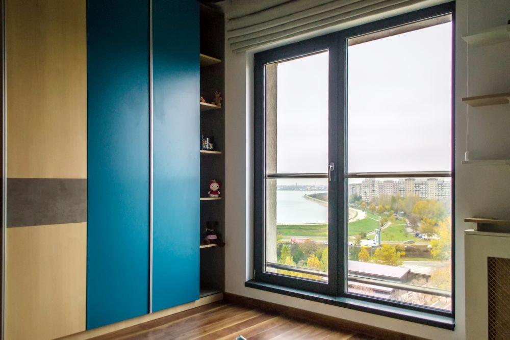 adelaparvu.com despre amenajare apartament 3 camere Bucuresti, 83 mp, Design arh. Sergiu Califar, Pure Mess (26)