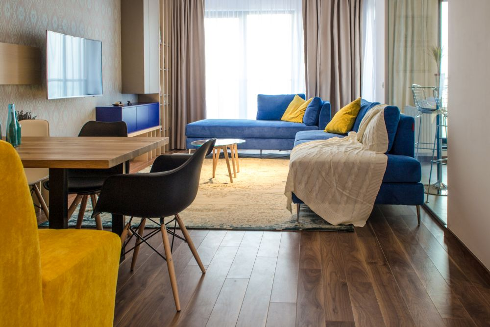 adelaparvu.com despre amenajare apartament 3 camere Bucuresti, 83 mp, Design arh. Sergiu Califar, Pure Mess (4)