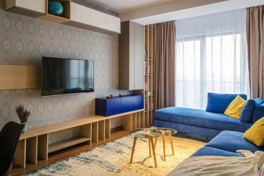 adelaparvu.com despre amenajare apartament 3 camere Bucuresti, 83 mp, Design arh. Sergiu Califar, Pure Mess (6)