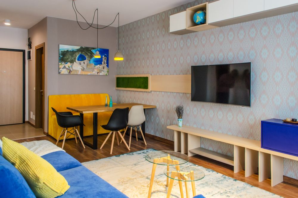 adelaparvu.com despre amenajare apartament 3 camere Bucuresti, 83 mp, Design arh. Sergiu Califar, Pure Mess (7)