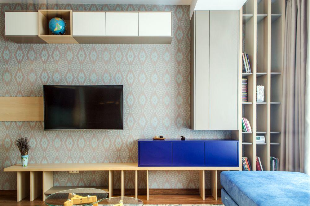 adelaparvu.com despre amenajare apartament 3 camere Bucuresti, 83 mp, Design arh. Sergiu Califar, Pure Mess (9)