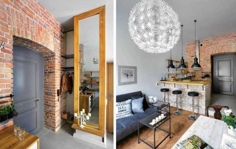 adelaparvu.com despre amenajare locuinta 39 mp, Design Alice Pochopien-Kuzniarz, Foto Michal Mutor (1)