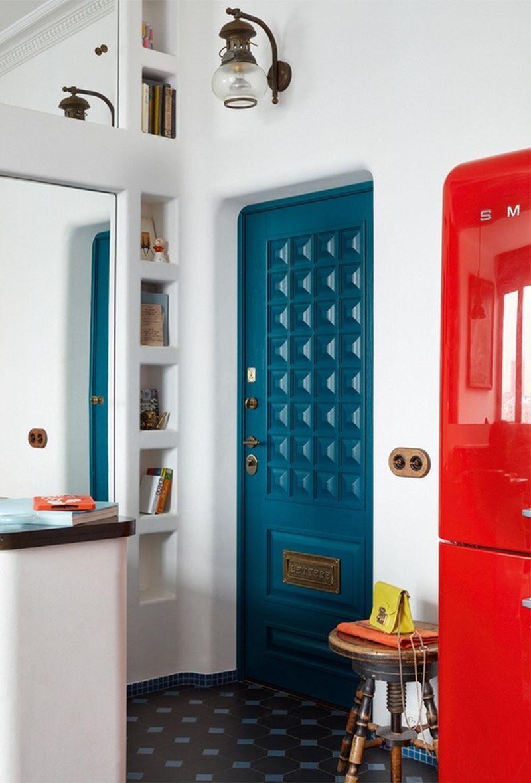 adelaparvu.com despre apartament 2 camere, 40 mp, Moscova, design Elena si Kirill Cheburashkin, Foto Sergey Ananiev (11)