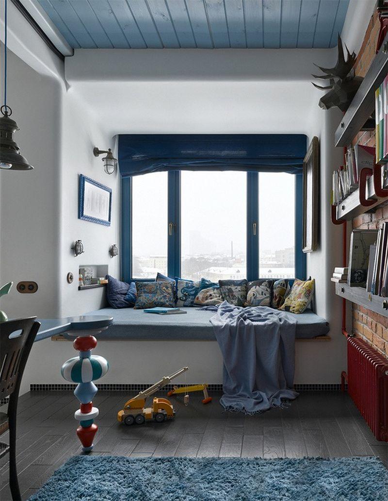 adelaparvu.com despre apartament 2 camere, 40 mp, Moscova, design Elena si Kirill Cheburashkin, Foto Sergey Ananiev (5)