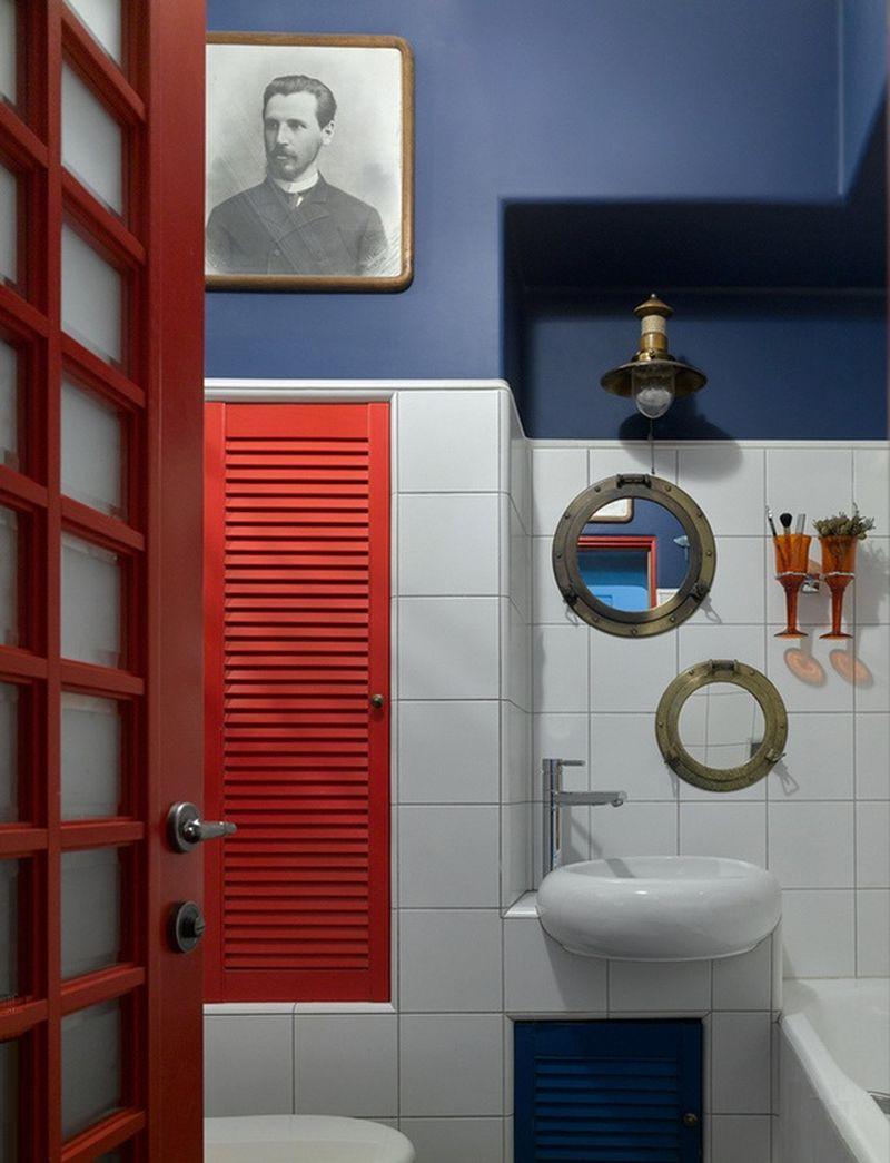 adelaparvu.com despre apartament 2 camere, 40 mp, Moscova, design Elena si Kirill Cheburashkin, Foto Sergey Ananiev (7)