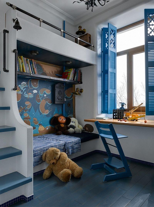 adelaparvu.com despre apartament 2 camere, 40 mp, Moscova, design Elena si Kirill Cheburashkin, Foto Sergey Ananiev (8)