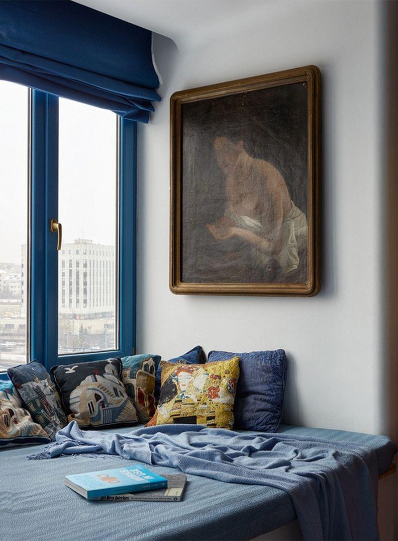 adelaparvu.com despre apartament 2 camere, 40 mp, Moscova, design Elena si Kirill Cheburashkin, Foto Sergey Ananiev (9)