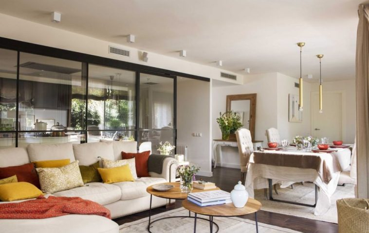 adelaparvu.com despre apartament cu stiluri combinate, 140 mp, Barcelona, Design Vivestudio, Foto Fernando Bedon, El Mueble (13)