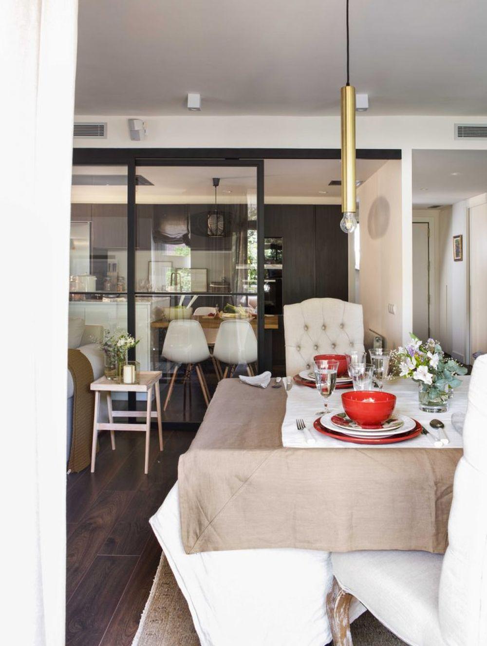adelaparvu.com despre apartament cu stiluri combinate, 140 mp, Barcelona, Design Vivestudio, Foto Fernando Bedon, El Mueble (14)
