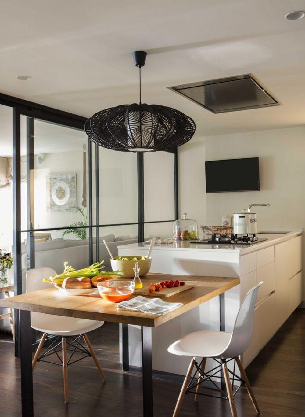 adelaparvu.com despre apartament cu stiluri combinate, 140 mp, Barcelona, Design Vivestudio, Foto Fernando Bedon, El Mueble (8)