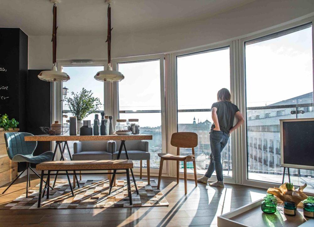 adelaparvu.com despre apartament de 2 camere in stil scandinav, Polonia, Design Shoko Studio (10)