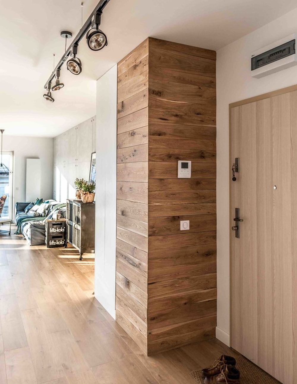 adelaparvu.com despre apartament de 2 camere in stil scandinav, Polonia, Design Shoko Studio (15)