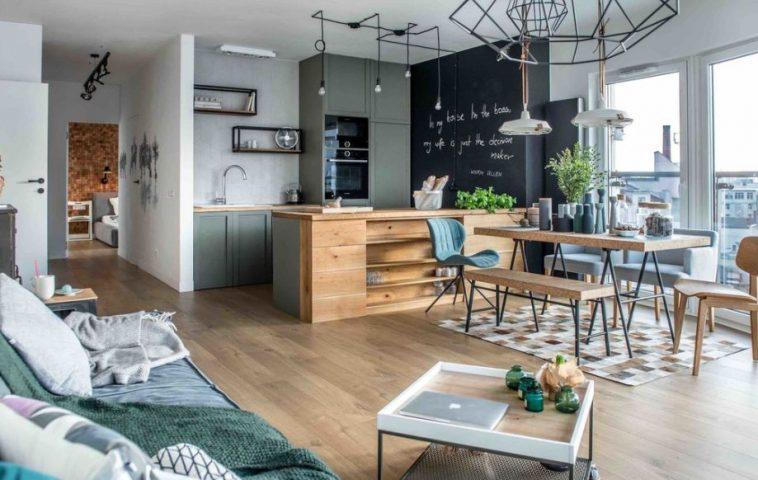 adelaparvu.com despre apartament de 2 camere in stil scandinav, Polonia, Design Shoko Studio (3)