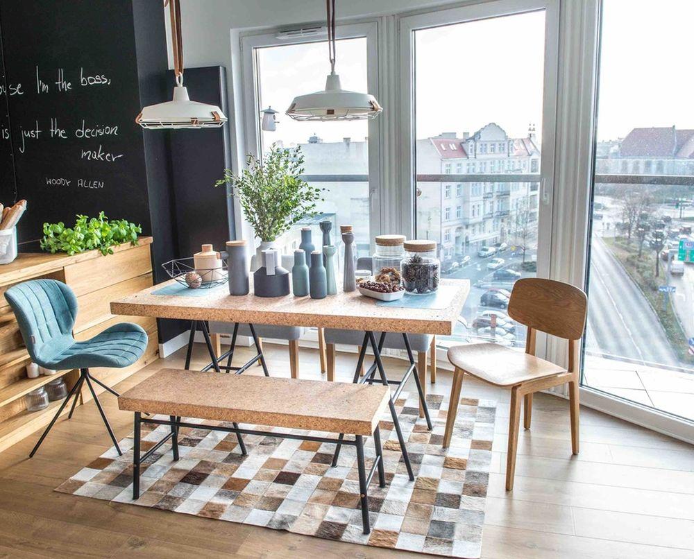 adelaparvu.com despre apartament de 2 camere in stil scandinav, Polonia, Design Shoko Studio (8)