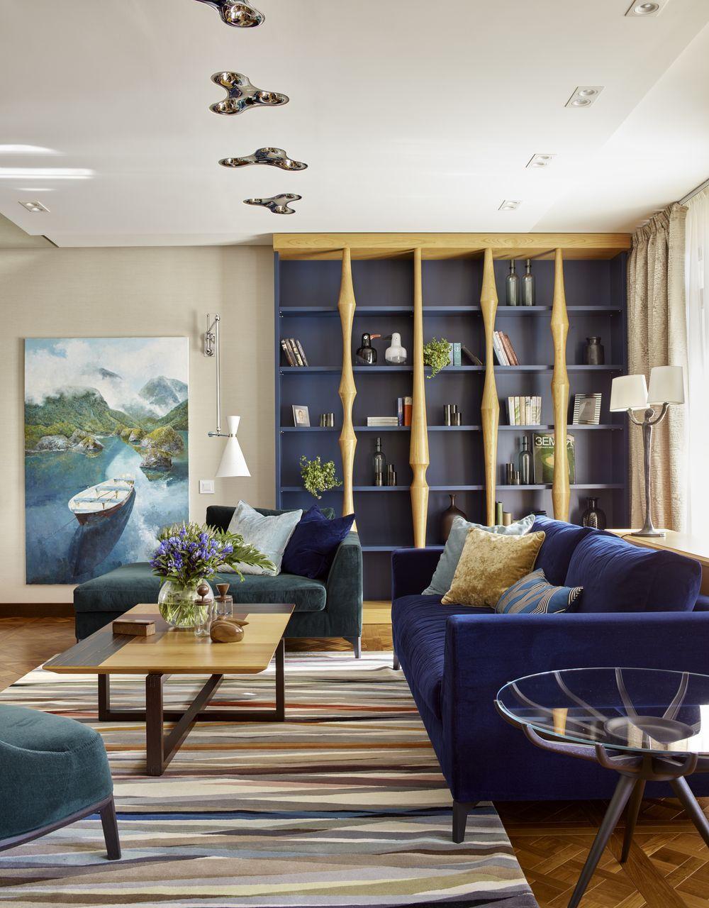 adelaparvu.com despre apartament elegant de 4 camere, Moscova, Designer Veronica Sudnikova, Foto Sergey Ananyev (11)