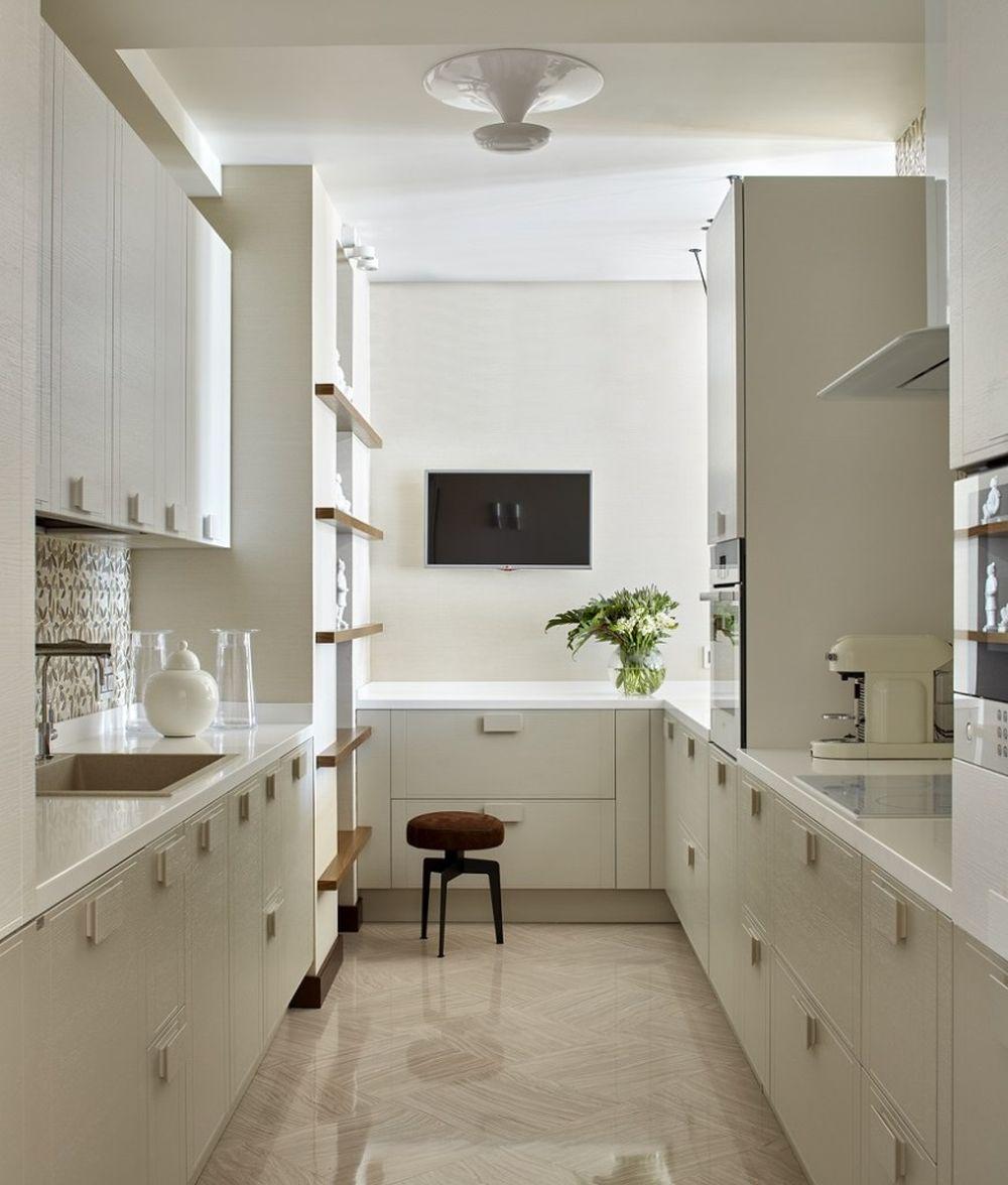 adelaparvu.com despre apartament elegant de 4 camere, Moscova, Designer Veronica Sudnikova, Foto Sergey Ananyev (14)