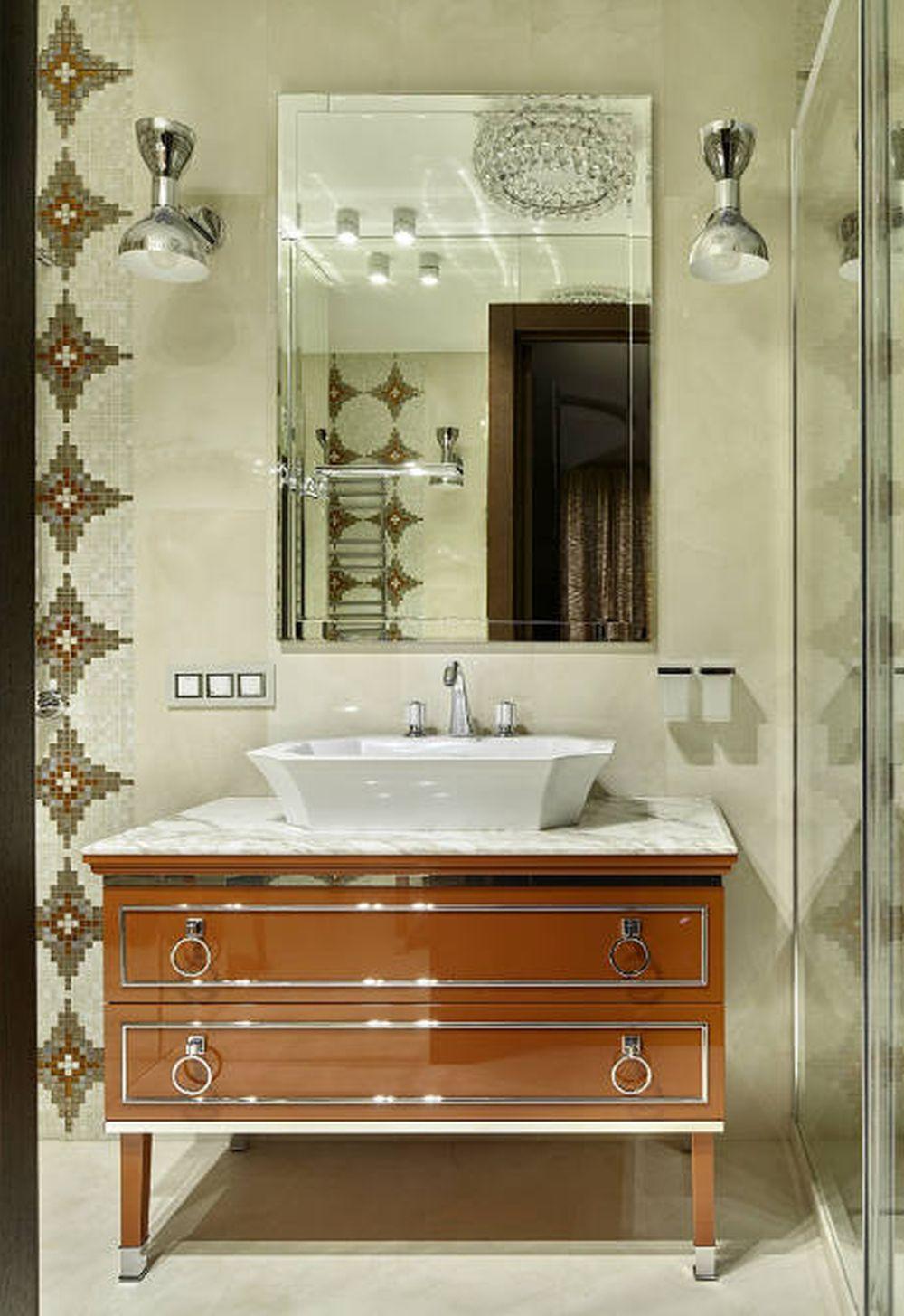 adelaparvu.com despre apartament elegant de 4 camere, Moscova, Designer Veronica Sudnikova, Foto Sergey Ananyev (3)