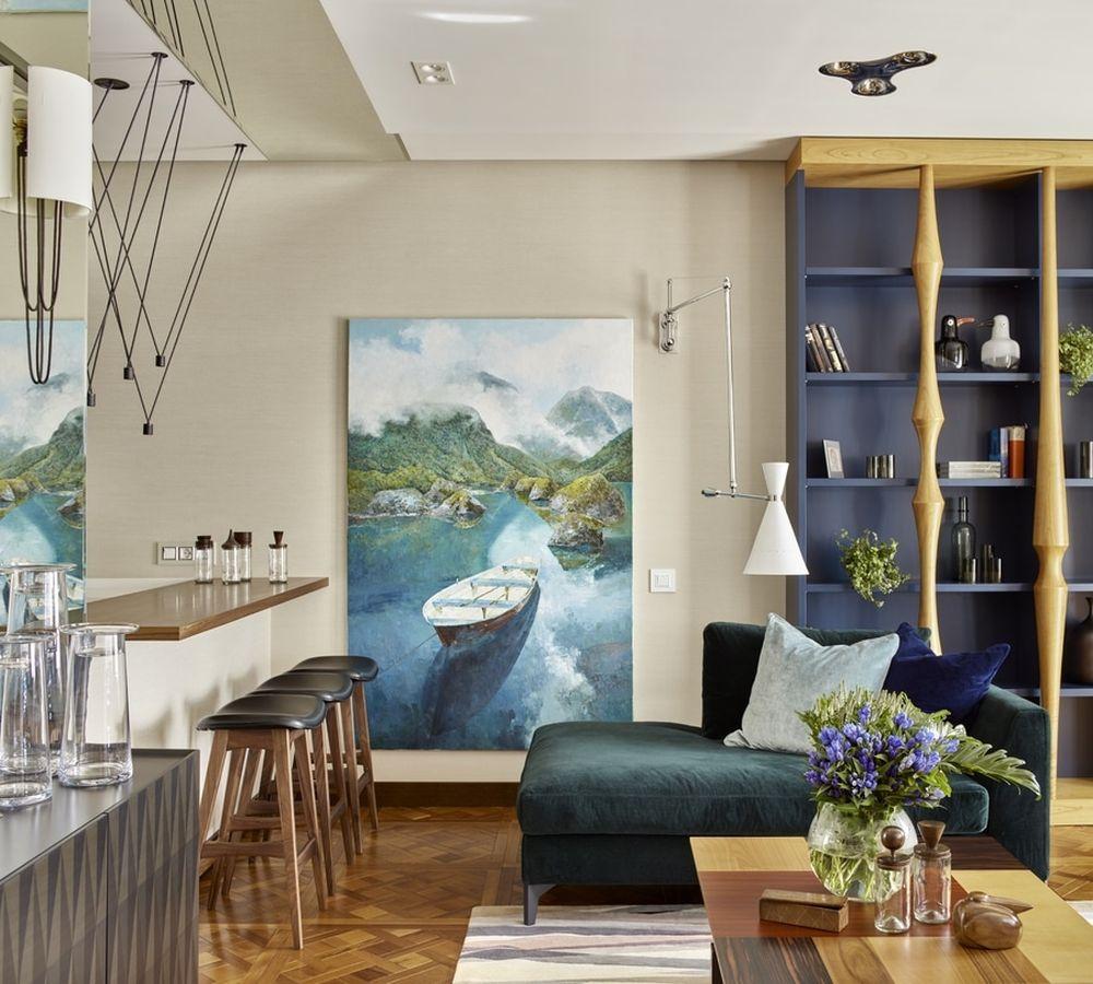 adelaparvu.com despre apartament elegant de 4 camere, Moscova, Designer Veronica Sudnikova, Foto Sergey Ananyev (4)