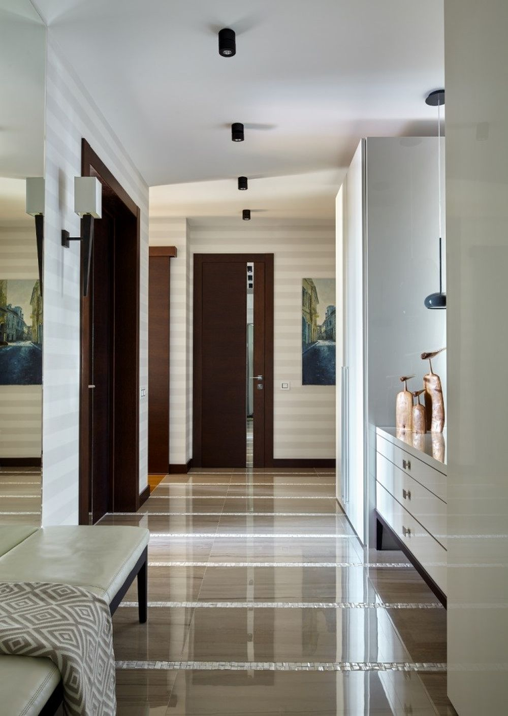 adelaparvu.com despre apartament elegant de 4 camere, Moscova, Designer Veronica Sudnikova, Foto Sergey Ananyev (7)