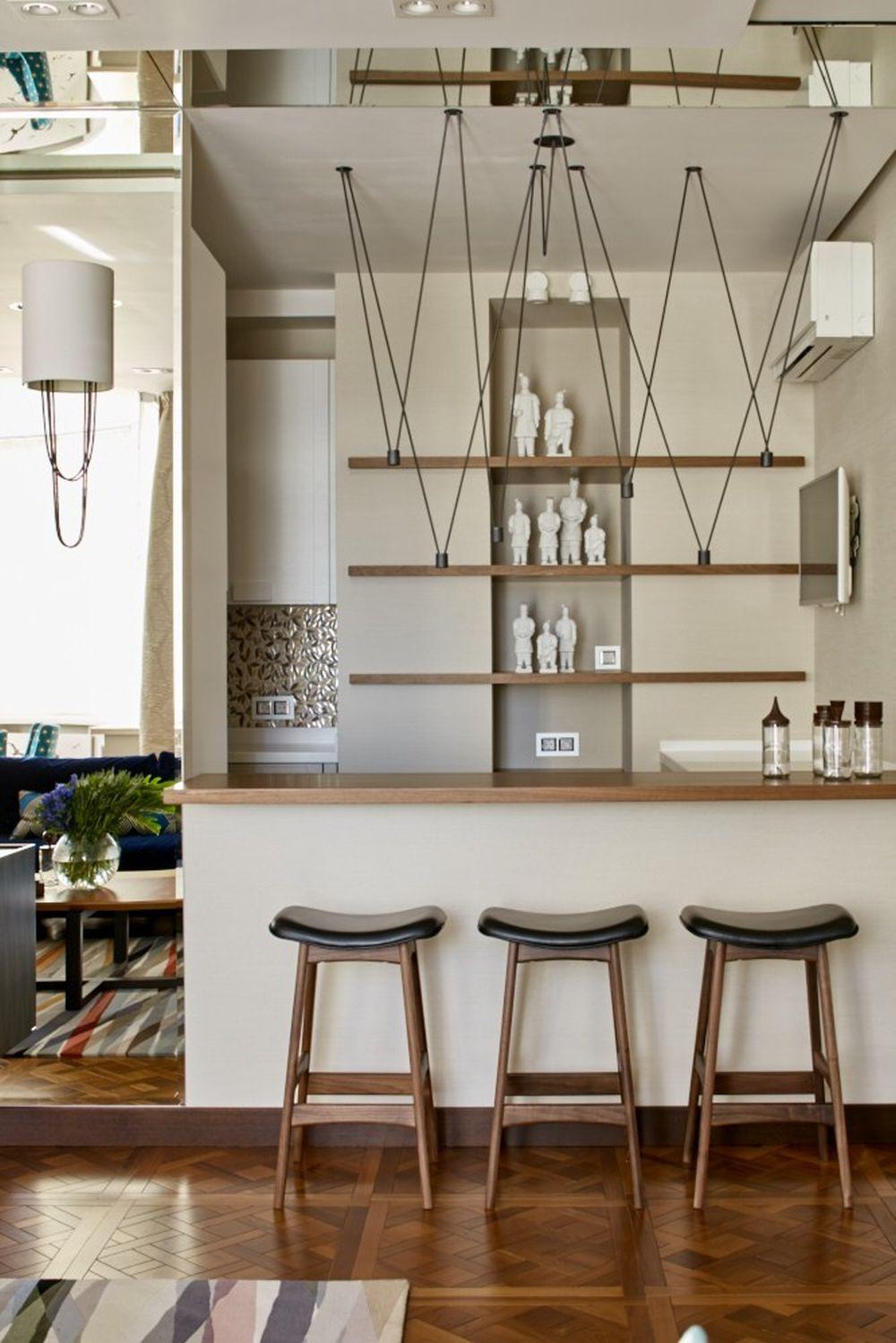 adelaparvu.com despre apartament elegant de 4 camere, Moscova, Designer Veronica Sudnikova, Foto Sergey Ananyev (9)