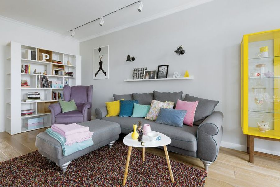 adelaparvu.com despre apartament in culori pastelate, Designer Patricia Rabinska, Foto Yassen Hristov (5)