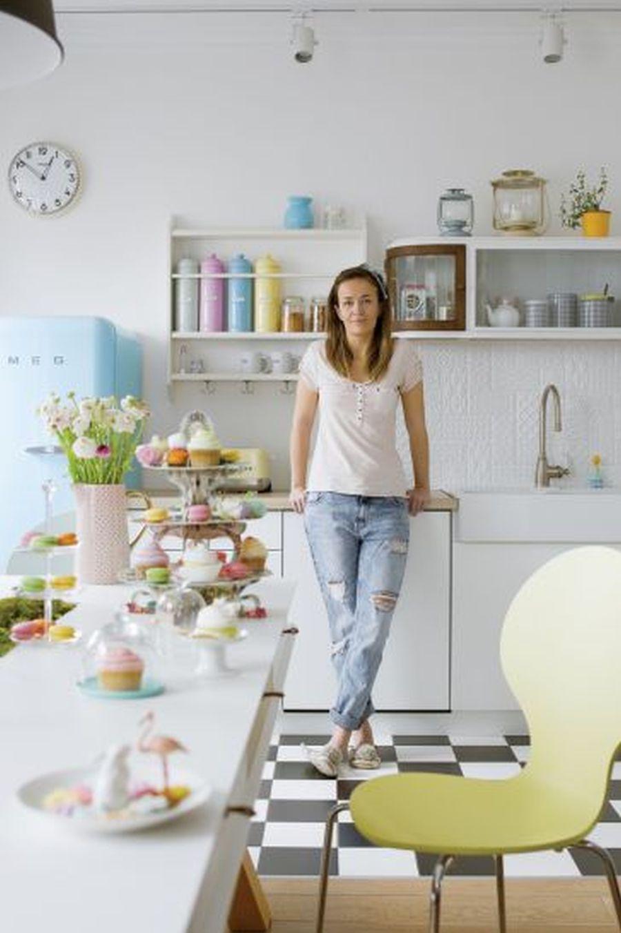 adelaparvu.com despre apartament in culori pastelate, Designer Patricia Rabinska, Foto Yassen Hristov (8)