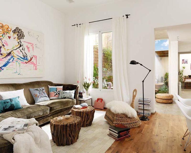 adelaparvu.com despre apartament lung la mansarda, Barcelona, designer Mireia Pla (3)