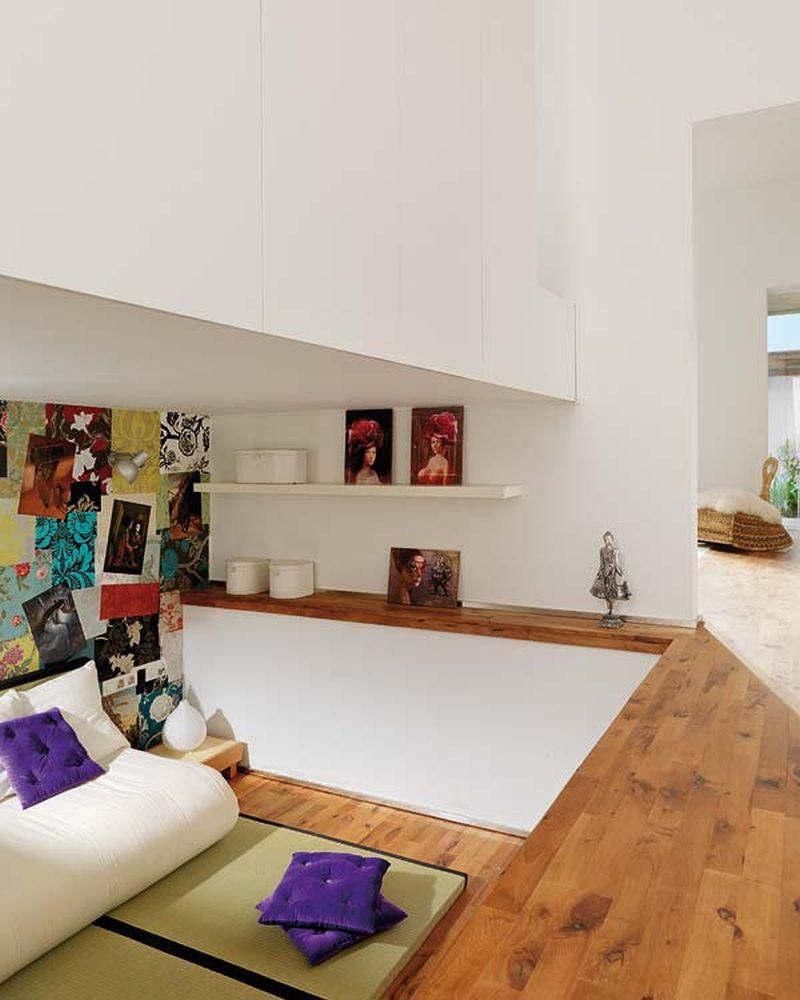 adelaparvu.com despre apartament lung la mansarda, Barcelona, designer Mireia Pla (5)