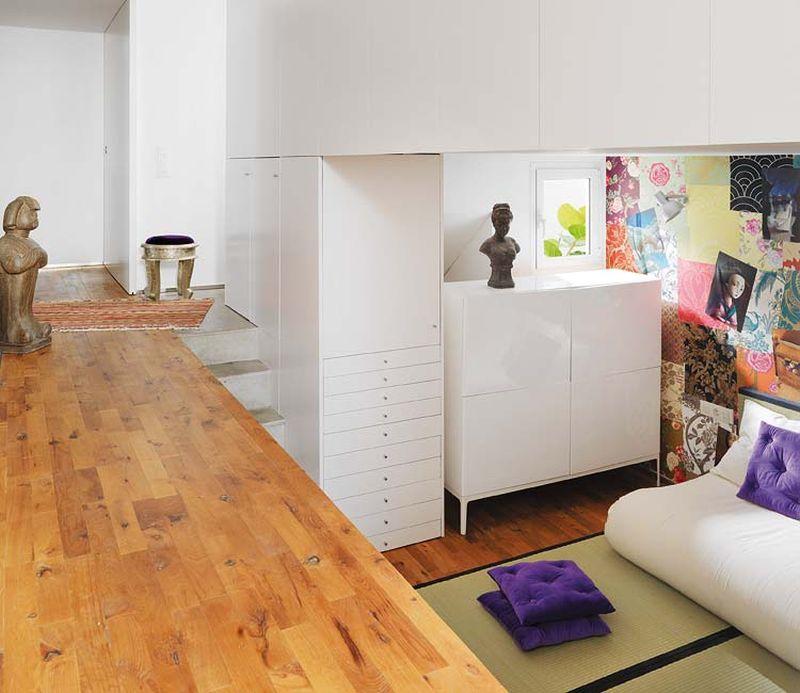 adelaparvu.com despre apartament lung la mansarda, Barcelona, designer Mireia Pla (6)