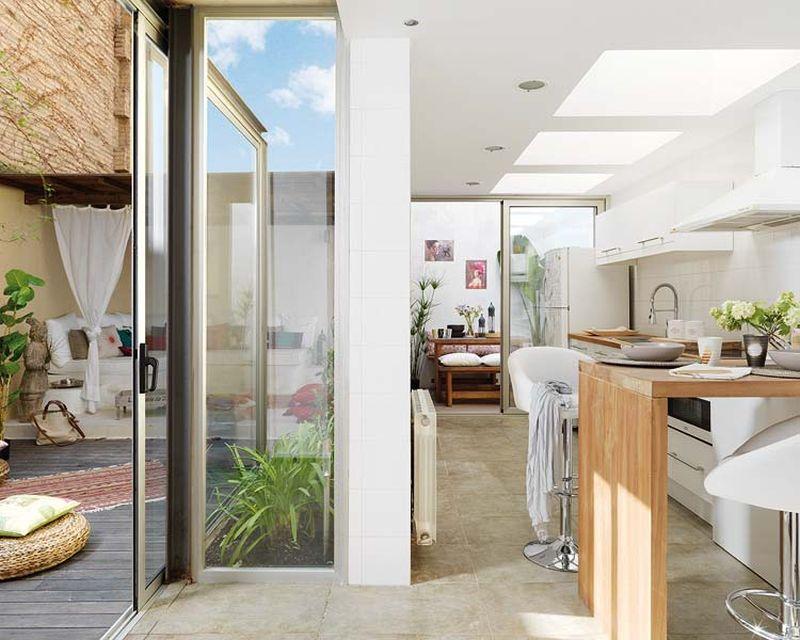 adelaparvu.com despre apartament lung la mansarda, Barcelona, designer Mireia Pla (8)