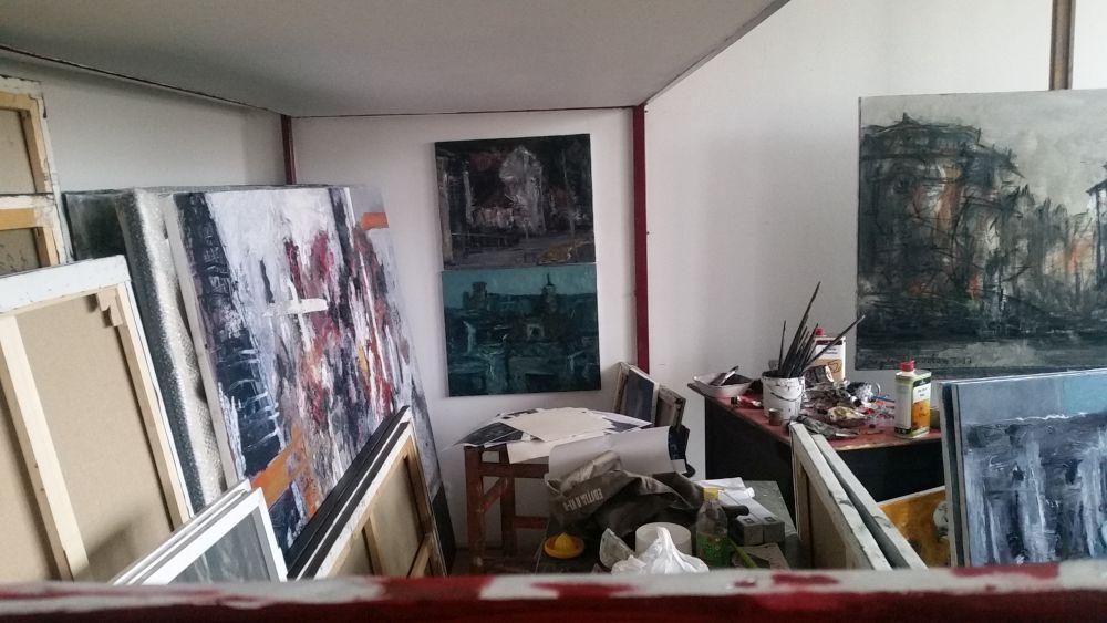 adelaparvu.com despre atelierul pictorului Eugen Raportoru, test SeeColors Samsung (11)