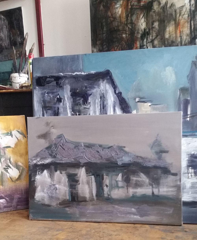 adelaparvu.com despre atelierul pictorului Eugen Raportoru, test SeeColors Samsung (16)