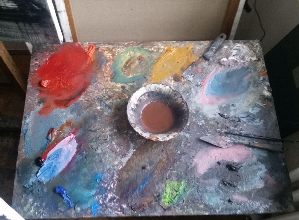 adelaparvu.com despre atelierul pictorului Eugen Raportoru, test SeeColors Samsung (19)