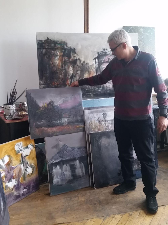 adelaparvu.com despre atelierul pictorului Eugen Raportoru, test SeeColors Samsung (21)